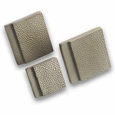 Leather Step cabinet knob nickel