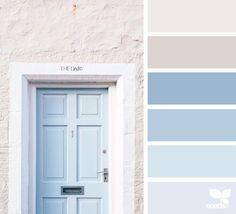 Door Tones A Door Tones via Love the light, soft and warm feeling in this color palette!A Door Tones via Love the light, soft and warm feeling in this color palette! Ocean Color Palette, Ocean Colors, Blue Colour Palette, Blue Color Schemes, Pastel Colors, Colour Palettes, Colours, Baby Blue Colour, Light Blue Color