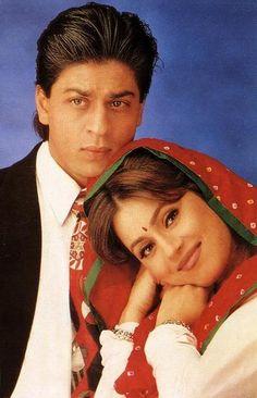 Shah Rukh Khan and Mahima Chaudhary - Pardes (1997)