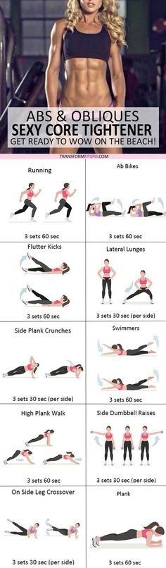 #womensworkout #workout #femalefitness Repin and share if this workout gave you a sexy stomach! Click the pin for the full workout.