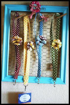 by Erica Cerwin, Pink Buckaroo Designs: Fabric Lanyards Tutorial
