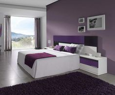 Number One Question You Must Ask For Elegant Puple Bedroom 55 Silver And Grey Bedroom, Purple Bedroom Decor, Small Room Bedroom, Bedroom Colors, Wardrobe Door Designs, Wardrobe Design Bedroom, Purple Furniture, Home Decor Furniture, Home And Deco