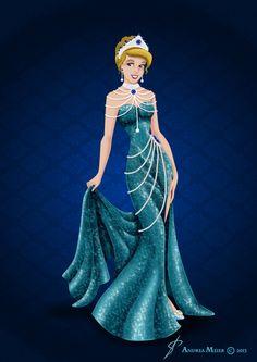 Royal Jewels Dress Edition: CINDERELLA by MissMikopete on DeviantArt