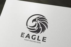 Check out Eagle Logo by Super Pig Shop on Creative Market