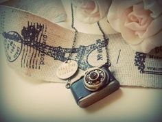 camera necklace by The Window Seat, via Flickr