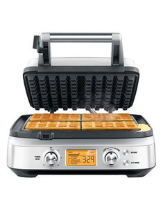 Home   Waffle & Bread Makers   The Smart Waffle 4 slice with no mess moat   Hudson's Bay