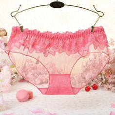 aabdc99bbc New Women Girls Sexy Lace Low Waist Thongs Underwear Briefs Knickers  Lingerie. Yesterday s price