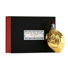 Birthday Wishlist, Heart Of Gold, Fragrance, Perfume, Map, Bottle, Location Map, Flask, Maps