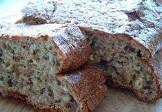 Bylinkový chléb (DUKAN) Banana Bread, Paleo, Desserts, Food, Household, Tailgate Desserts, Deserts, Essen, Beach Wrap