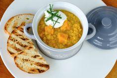 Prívarok z červenej šošovice a batatov Chana Masala, Curry, Healthy, Ethnic Recipes, Tips, Food, Cilantro, Curries, Advice