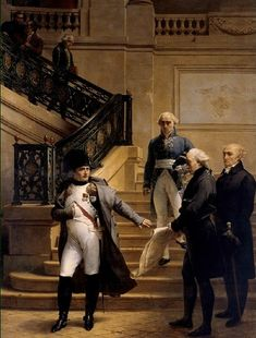 Napoleon visiting the Tribunat (Palais Royal) in 1807 - Napoleon - Wikipedia, the free encyclopedia