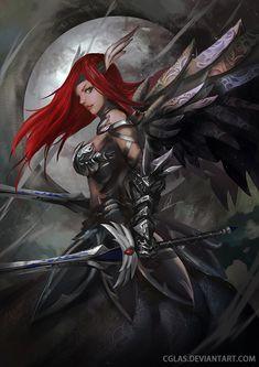 Erza Scarlet (Armadura de la Rueda del Cielo) - Fairy Tail