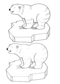 Home Decorating Style 2020 for Iceberg Dessin à Colorier, you can see Iceberg Dessin à Colorier and more pictures for Home Interior Designing 2020 at Coloriage Kids. Igloo Craft, Abc Coloring Pages, Penguins And Polar Bears, Polo Norte, Animal Templates, Polar Animals, Bear Art, Winter Theme, Animal Paintings