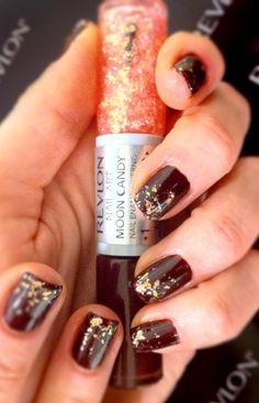 easily add a hint of #glitter to your nails with Revlon Nail Art Moon Candy in 'Satellite' #nailpolish #trends
