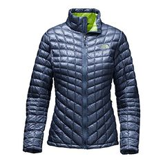 The North Face ThermoBall Full Zip Womens Jacket - XX-Large/Shady Blue *** Continue to the product at the image link.