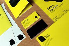 Type Space Festival by Katarzyna Zapart, via Behance