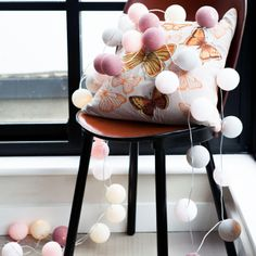 Cable & Cotton Decorative 20 Lights, Marshmallow | ACHICA
