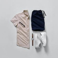 Essentials by jeromeguerzon Tomboy Fashion, Mens Fashion, Fashion Outfits, Classy Fashion, Fashion Tips, Nike Outfits, Casual Outfits, Stylish Men, Men Casual
