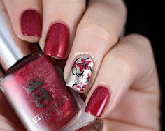 Copycat Claws: A England Rose Bower