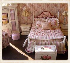 Lissun nukkekoti, Lissu's dollhouse: Shabby Chic