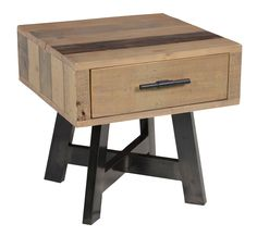 Classic Home Hauser 1 Drawer Side Table. $339.