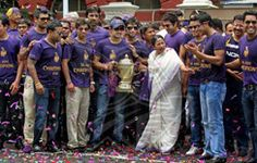 The Knights at the Eden Gardens with West Bengal CM Mamata Banerjee
