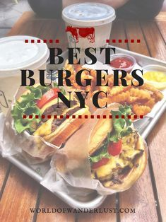 Where to find the Best Burgers in New York City