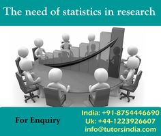 Why there is a need of statistics; the answer is obvious that to analyze the results. But the question is why the need of this discipline in research studies. What is the benefit, a researcher accrues through statistics. Research study without data is of no value; hence data collection is a prerequisite. Therefore, data or information is collected from the respondents which are known as raw data.