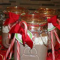 Hot Cocoa Mix in a Jar Allrecipes.com