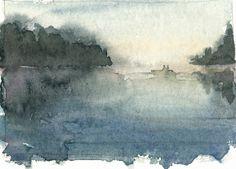 Watercolor sketch by Stafano Zampieri