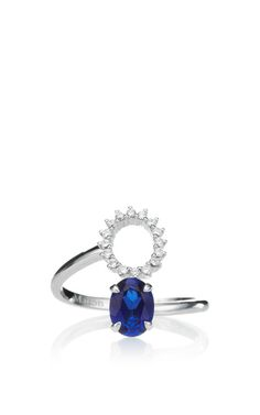 Pompadour Deconstructed Ring by Maison Martin Margiela for Preorder on Moda Operandi