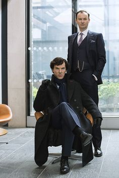 The brothers Holmes. BBC. Sherlock