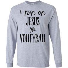 Jesus and Volleyball Sport Sweatshirt Volleyball Sweatshirts, Funny Volleyball Shirts, Volleyball Outfits, Volleyball Quotes, Volleyball Pictures, Sports Sweatshirts, Beach Volleyball, Sports Shirts, Volleyball Accessories