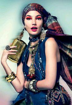 Headscarf fashion