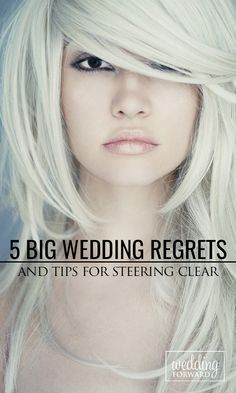 5 Big Wedding Regrets & Tips For Steering Clear ❤ #Wedding regrets are a common part of weddings but there are ways for the #bride to avoid them and enjoy the celebration. Here are essential tips that every bride needs for her to kiss those regrets goodbye. See more: http://www.weddingforward.com/wedding-regrets-tips-for-steering-clear/ #weddingplanning #brides