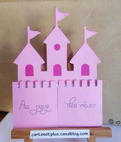 carte château fermée / castle card close