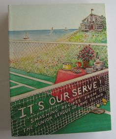 Junior League of Long Island Cookbook It's Our Serve First Edition