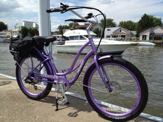 Build your own purple Pedego Electric Bike!