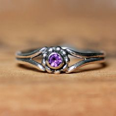 Custom birthstone ring  mother's ring  gemstone by metalicious, $98.00