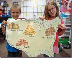 Native American Study Ideas classroom idea, nativ american, native american ideas, native americans, american indians lessons, map, 3rd grade homeschool ideas, american studi, social studi
