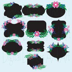 Chalkboard digital frames, Flower frames, Flower chalkboard digital clip art, Chalkboard label, Pink, black, gray Invitation Label Tags Chalkboard Labels, Label Tag, Chalkboards, Flower Frame, Pink Black, Frames, Clip Art, Invitations, Gray