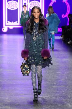 Anna Sui RTW Fall2016 Shoes
