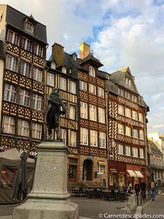 Visiter Rennes - 20 lieux incontournables à voir dans la capitale bretonne, plus quelques bonnes adresses de restaurants, cafés et boutiques.