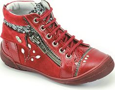 Catimini - CATIMINI boots rouge paillettes CYNDIE 1446 - Chaussures catimini (*Partner-Link)