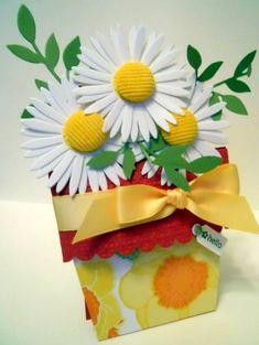 The 180 best cards flower ppots images on pinterest flower pots wt283 daisy daisy mightylinksfo