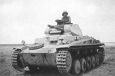 Panzer II light tank North Africa, pin by Paolo Marzioli