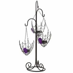Hanging Spider Web Tealight Holder from Pier1 Imports