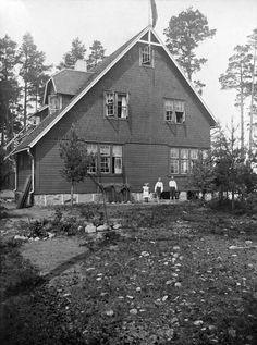 Vuosaari, Kallvik Helsinki. Huvila Åsa. -- Valokuvaaja: Tuntematon 1909 / HLM / finna