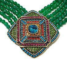 "Heidi Daus ""City of Lights"" Beaded 6-Strand Necklace"