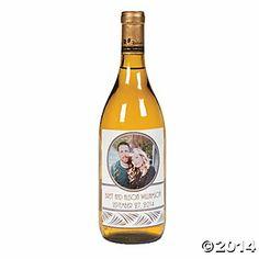 Custom Photo Wine Bottle Labels. Oriental Trading http://www.orientaltrading.com/wedding-custom-photo-wine-bottle-labels-a2-13631423-12.fltr?prodCatId=QV